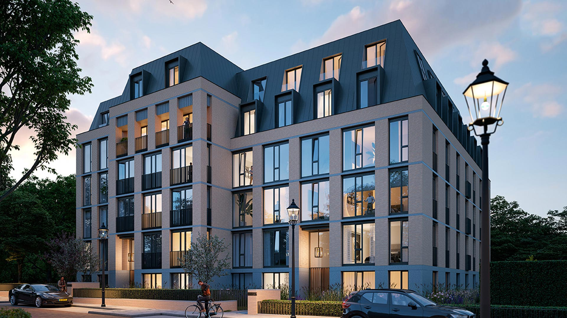 Nieuwbouw Den Haag - Villa Appartementen - Elion Park