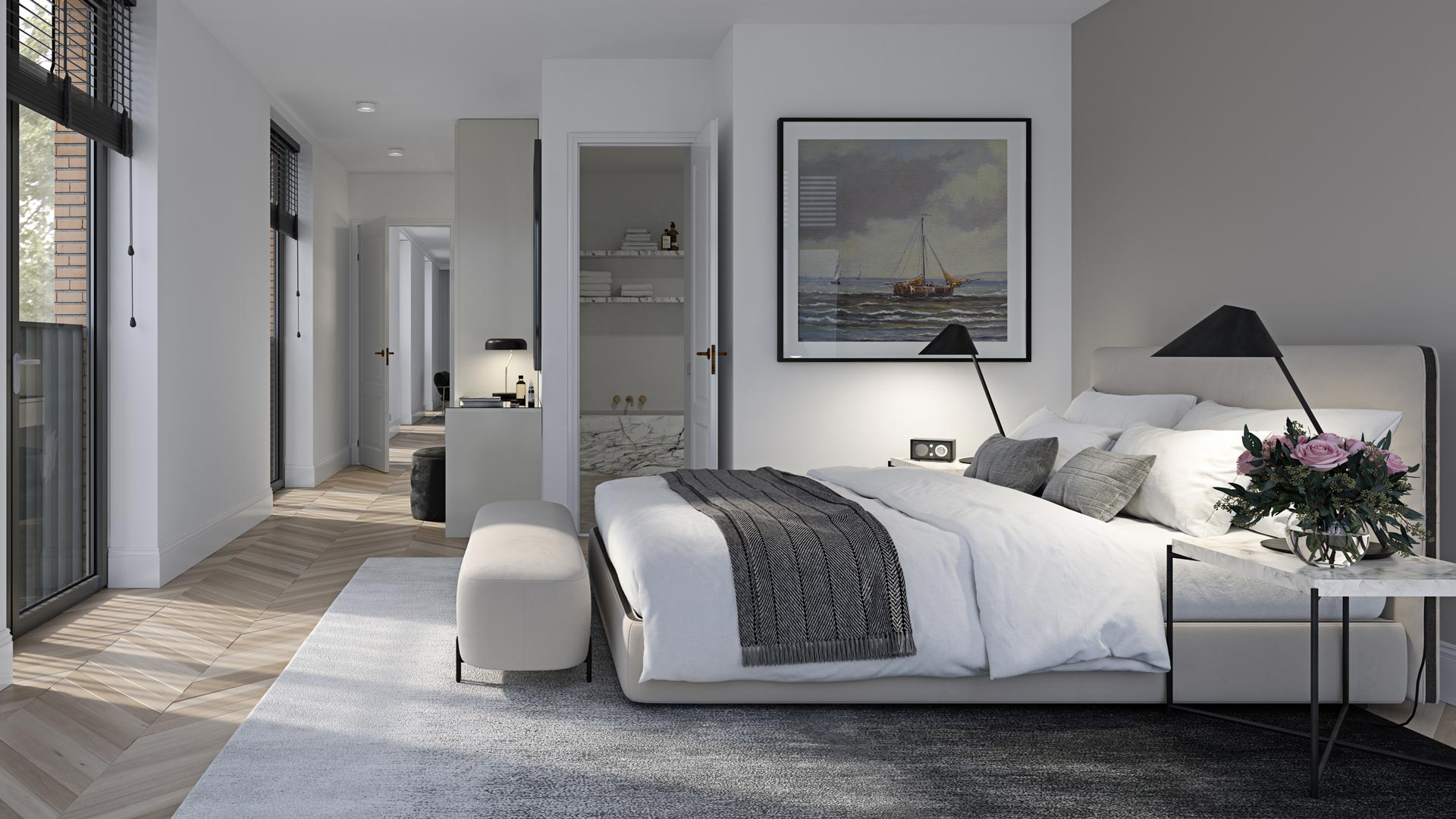 Type C - Interieur Slaapkamer - Appartementen - Elion Park