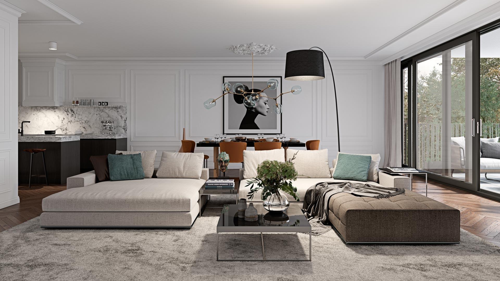 Type D - Interieur Slaapkamer - Appartementen - Elion Park