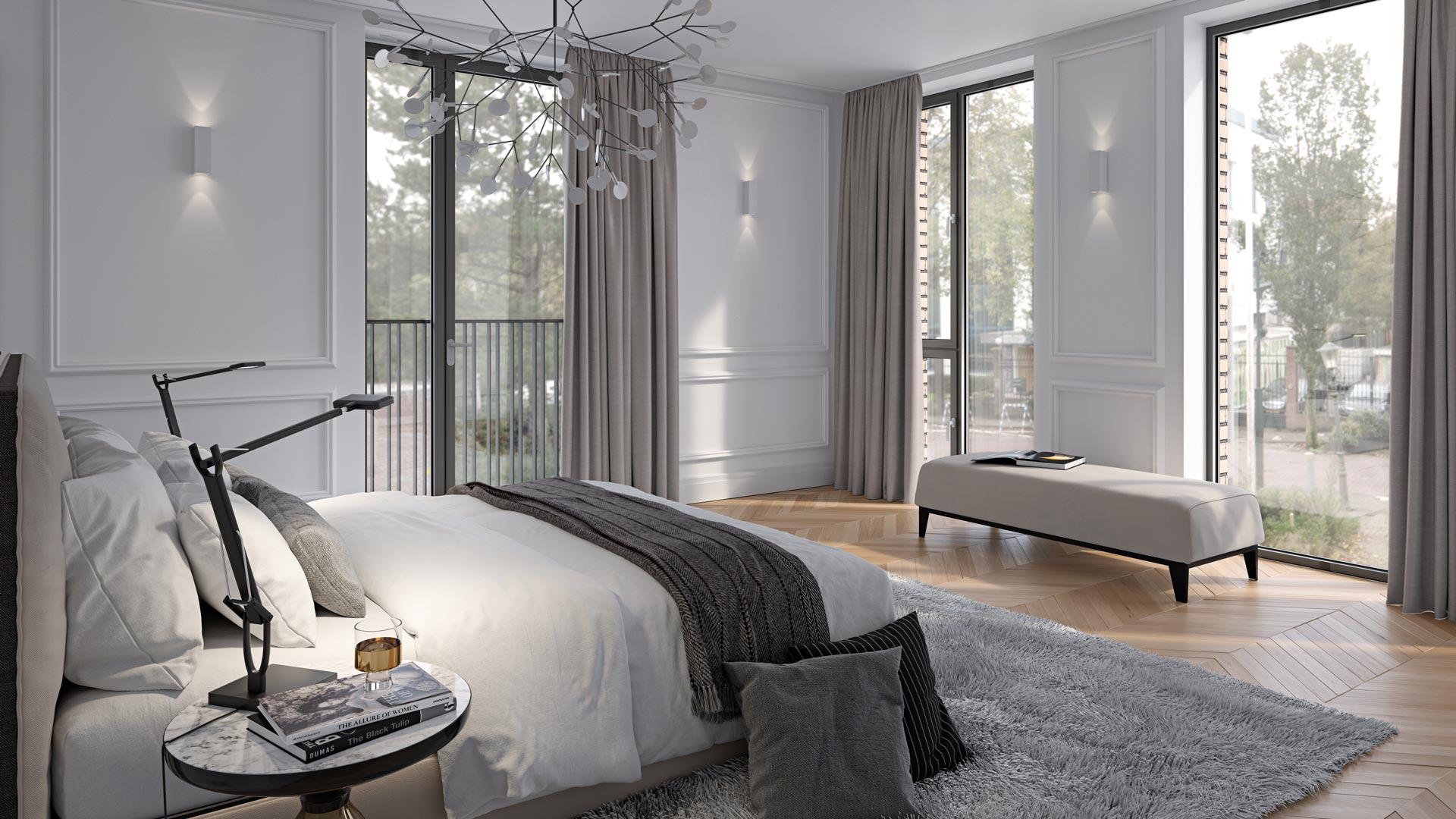 Type E - Interieur - Appartementen - Elion Park