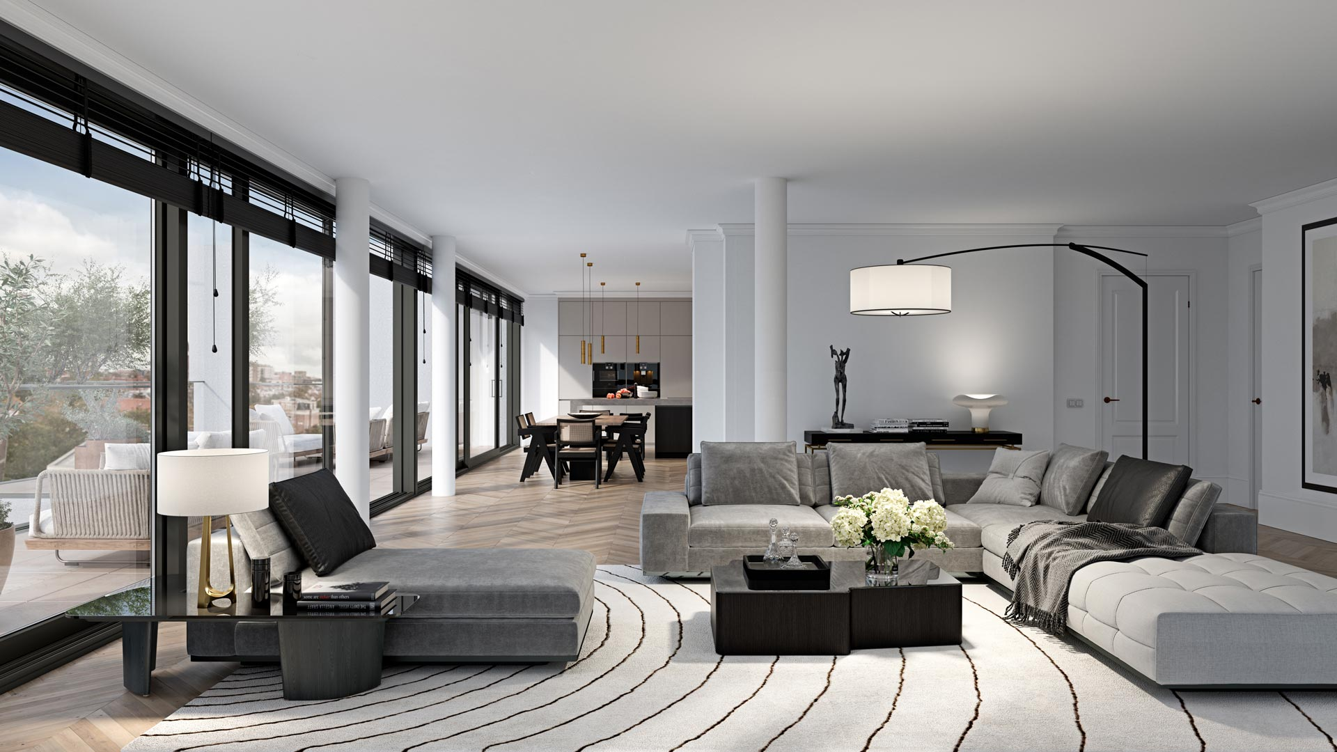 Type F - Interieur Slaapkamer - Appartementen - Elion Park